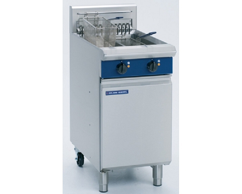 BLUE SEAL Heavy Duty Twin Tank Electric Fryer E44