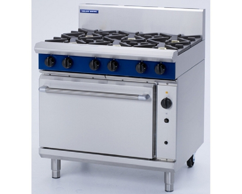 BLUE SEAL Heavy Duty Oven Range 6 Gas Burner G56D