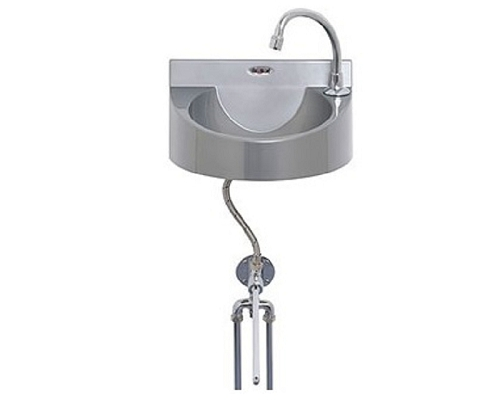 Basix Knee-Operated, Hands-Free,Basin Polycarbonate WS1-KVS