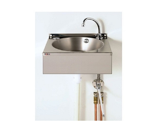 Basix Knee-Operated, Hands-Free,Basin Stainless steel WS4-KVS