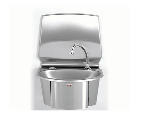 Basix Knee-Operated, Hands-Free,Basin Stainless steel WS6-KVS