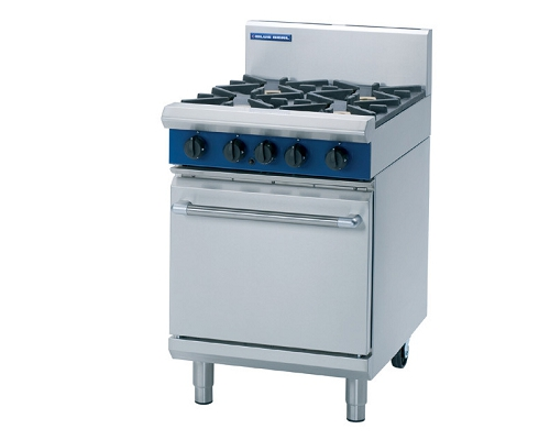 BLUE SEAL Heavy Duty Oven Range 4 Gas Burner G504D