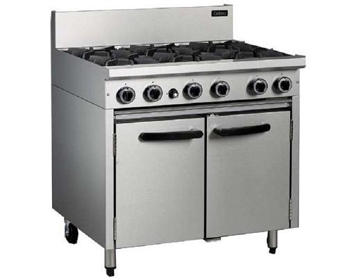 BLUE SEAL Heavy Duty Oven Range 6 Gas Burner UKCR9D