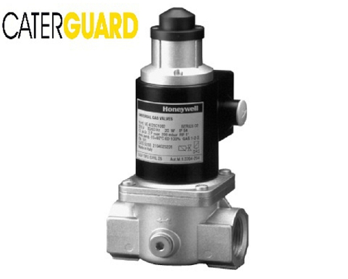 "CaterGuard 1/2"" Gas Solenoid Valve (normally closed-230V)"
