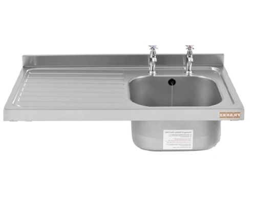 Franke Sissons Catering sink only, 1200x600 mm left hand drainer