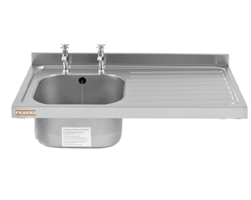 Franke Sissons Catering sink only, 1200x600mm right hand drainer
