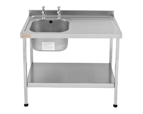 Franke Sissons Catering sink 1200x600 mm with right hand drainer
