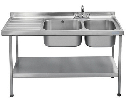 Franke Sissons Catering sink 1500x600 mm with left hand drainer