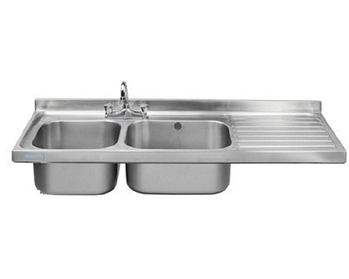 Franke Sissons Catering sink only, 1500x600mm right hand drainer