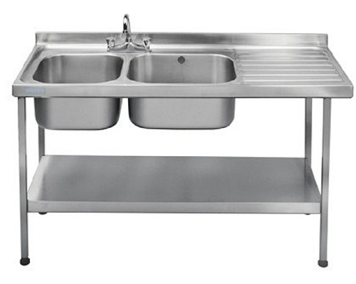 Franke Sissons Catering sink 1500x600 mm with right hand drainer