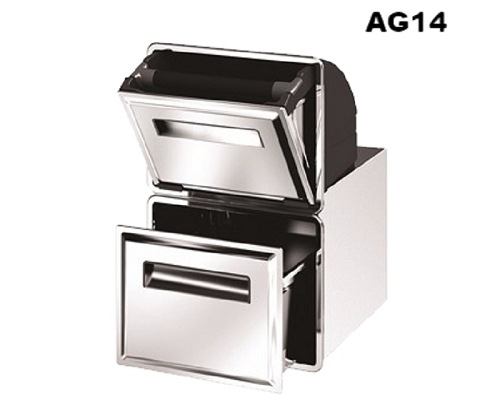 Coffee Gound Hopper AG14 Double