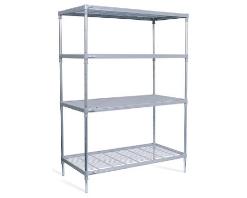 Craven 4 tier 900x400mm Shelving/Racking 4NYM900400