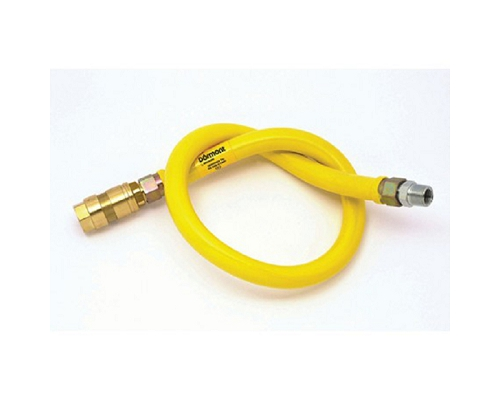 "MECHLINE Dormont 1"" BRAIDED Gas Hose 1m"