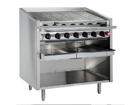 MagiKitch'n FM-636 Floor Standing Gas Charbroiler