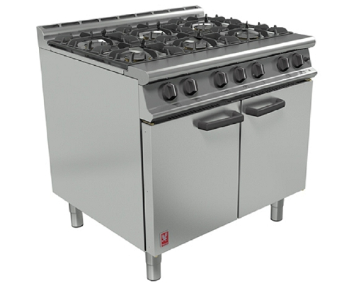 Falcon G3101D 6 BURNER Oven Range Dominator Plus