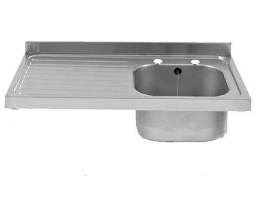 Franke Sissons Catering sink only, 1000x600 mm left hand drainer