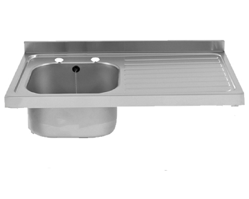 Franke Sissons Catering sink only, 1000x600mm Right hand drainer