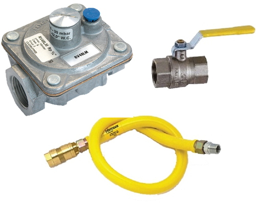 Gas Hoses & Ball Valves