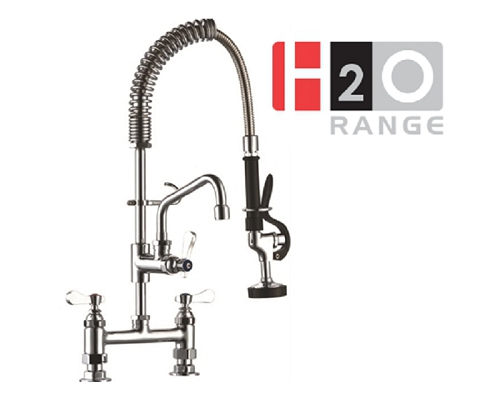 H2O Pre-Rinse Commercial Kitchen Spray Units