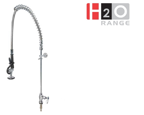 H2O Single Feed Deck Mount Pre-rinse Unit DP631BR
