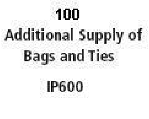 IMC IP600 Additional 100 Bags/Ties