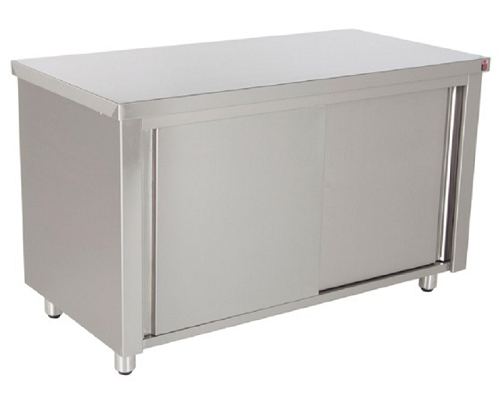 Inomak 1100mm stainless steel Base Cupboard EG710
