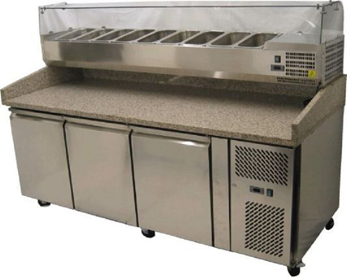 PZ Range Of Deluxe Pizza Prep Counters PZ2600