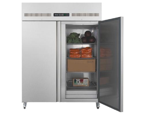 Open empty refrigerator