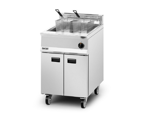 Lincat Opus 800 Natural Gas Free-Standing Single Tank Fryer - OG8107/N