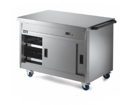 Lincat Panther Mobile Hot Cupboard with Plain Top P8P3