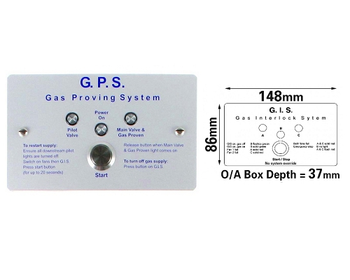 CaterGuard GIS Gas Interlock System M-G01