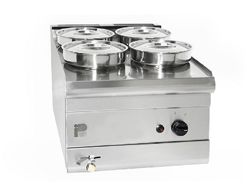 PARRY 4 POT STAINLESS STEEL WET BAIN MARIE PWB4