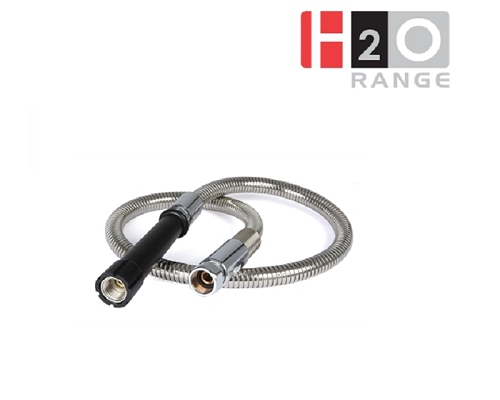 Pre-Rinse Unit - H2O - Stainless steel hose with grip DP50Y004