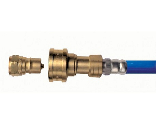 Mechline 1/2-inch, 2-Way Brass Quick-Disconnect Water Valve
