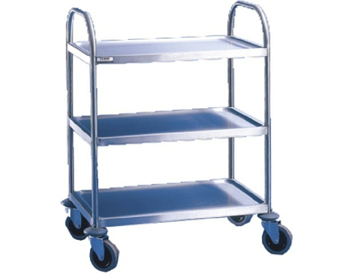 Craven Fully Welded Stainless Steel Trolley - 3 Shelves RSE8-3U
