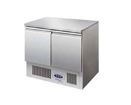 TEFCOLD Gastronorm Refrigerated Counter 2 Door SA910