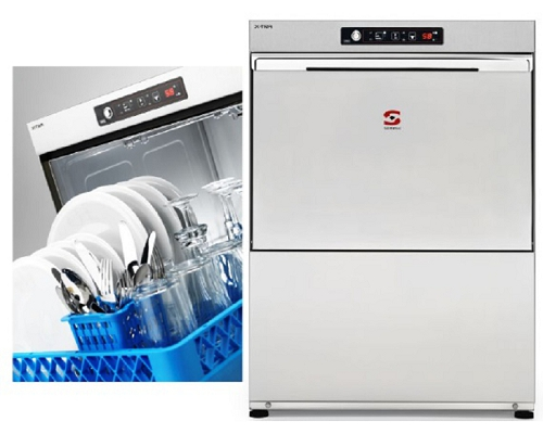 Sammic Dishwasher X-50B 500mm Basket with drain pump