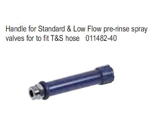 T&S Brass Handle for Standard pre-rinse spray item 33 only