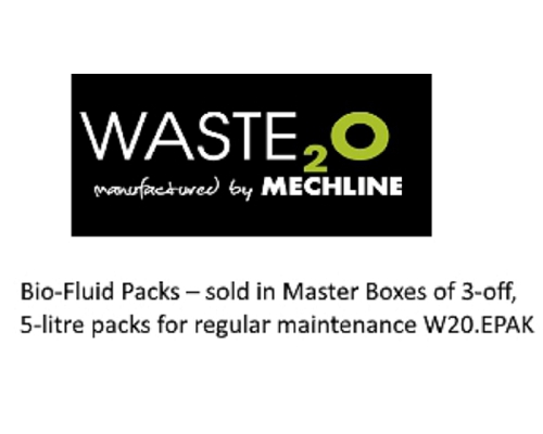 Mechline Waste²O Bio-Fluid Packs