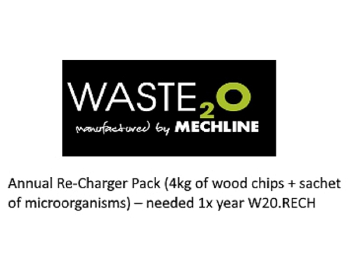 Mechline Waste²O Annual Re-Charger Pack