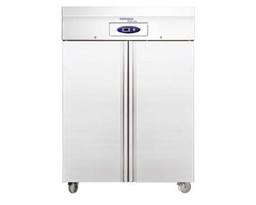 TEFCOLD Stainless Steel Double Door Freezer RF1420
