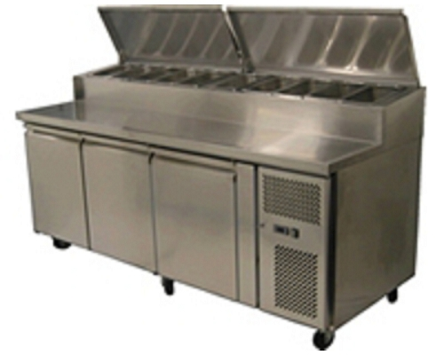 Pizza Preparation Tables